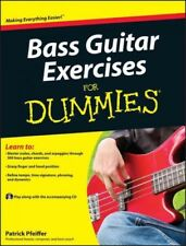 Bass Guitar Exercises for Dummies, Paperback by Pfeiffer, Patrick