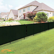 6'x50' Green Windscreen Privacy Fence Shade Cover Mesh Outdoor Lawn Construction