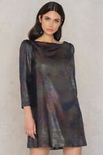 NWT Free People Diamonds Are Forever Dress OB667962 Silver Size XS M