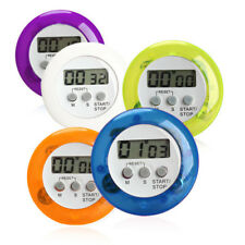 LCD Digital Kitchen Countdown Magnetic Timer Back Stand Cooking Time Alarm Clock