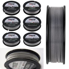 Alien Clapton Tiger Quad Fused Clapton Wire Coil Kanthal A1 15Feet Spool New