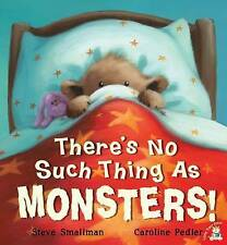 Preschool Story Book - THERE'S NO SUCH THING AS MONSTERS! by Steve Smallman  NEW