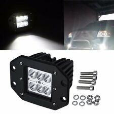 4 inch 18W Square Flood LED Work Light Bar For Jeep Off Road TRUCK NI