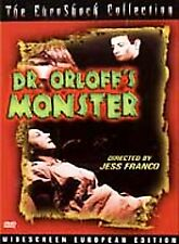 Dr. Orloffs Monster (DVD, 2002) The Euroshock Collection Widescree Euro Edition