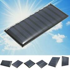 2/5/5.5/6/9V DIY Solar Panel Module System Toy For Battery Cell Phone Charger 0ウ