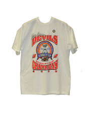 Vintage New Jersey Devils 2000 Stanley Cup Champions White T-Shirt - Brand New