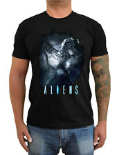 ALIENS Movie poster ver. 1 Sigourney Weaver T-Shirt (Black) S-5XL