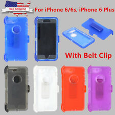 For iPhone 6/6s, iPhone 6/6s Plus Transparent Defender Case (Clip Fit Otterbox )