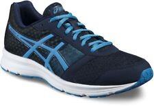 Asics Patriot 8 Mens Running Shoes Fitness Gym Trainers Navy 5843