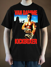 KICKBOXER Movie poster ver. 2 Jean-Claude Van Damme T-Shirt (Black) S-5XL