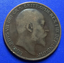 Rare & Collectable 1d King Edward VII One Penny Coins United Kingdom 1902 - 1910