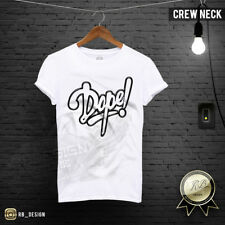 Dope Mens T-shirt Cool Mens Graphic Tees Scoop Neck Shirt Festival Top MD726