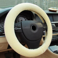 Plush Car Steering Wheel Cover Universal Elastic Winter Soft Warm Car Accessory