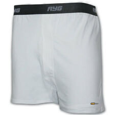 AYG Men's Performance Cotton Boxer Made in USA NIP Pacific/White Multiple Sizes