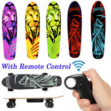 New Remote Control Longboard Skate Complete Deck Wireless Electric Skateboard