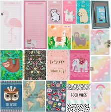 Sass & Belle Notebook Note Book Plain Pad Jotter Journal Diary Sketch Home Gift