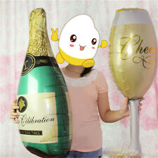1pc Champagne Bottle Glass Foil Balloons Birthday Wedding Party Decoration Decor
