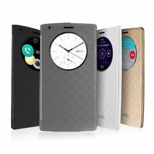 Luxury Quick Circle Smart Window View Slim Wallet Flip Case Cover For LG G3 0P