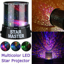 LED Star Light Starry Night Sky Projector Lamp Magic Master Kids Gift Romantic
