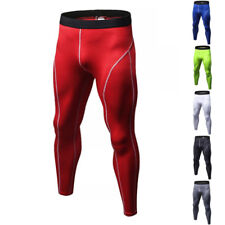 Men Thermal Compression Tight Base Layer Pants Long Leggings Gym Sport Trousers.