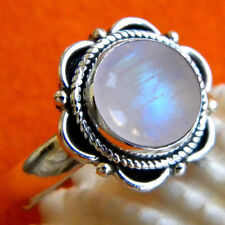 925 Sterling Silver Rainbow Moonstone Ring,Silver Ring,Metal ring Moonstone Ring