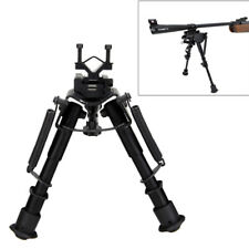"Adjustable 6"" - 9"" Hunting Rifle Tactical Rifle Bipod Sling Swivel Adaptor Mount"