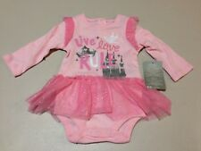 NWT Disney Store Princess Bodysuit 6 9 12 18 24mo Baby Girl