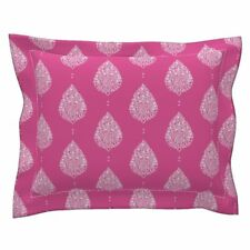 Moroccan Paisley Floral Paisley Pillow Sham by Roostery