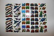 Hambly stickers 1 sheet - Vehicles Cars Trains Planes You Choose!