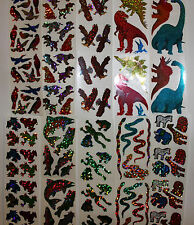 Hambly stickers 1 sheet - Animals Dinosaurs You Choose!