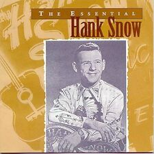 The Essential Hank Snow by Hank Snow CD 1997 RCA - Disc Like New! Free Shipping!