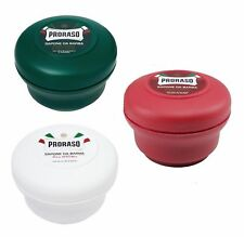 NEW Proraso Shaving Soap in a Bowl 150ml ALL COLOURS - AUS SELLER