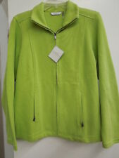 NWT - WOMEN'S LADY HATHAWAY ZIP UP JACKETS - 98% COTTON 2% SPANDEX - LARGE - $26