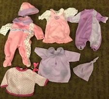 "9 Piece Lot Of You and Me Doll Clothes Toys ""R"" Us 9 Pc"