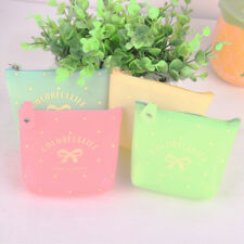 Women Coin Purse Wallet Card Key Money Change Clutch Bag Mini Pouch Bow Cute