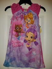 NEW Bubble Guppies Toddler Girls Lightweight Nightgown Pajamas / PJs Size 5T