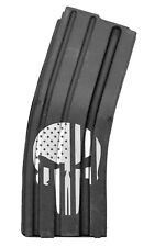 ASC 10-Round Long Magazine 5.56/223/300BLK Enhanced SS 10rd Mag - Punisher