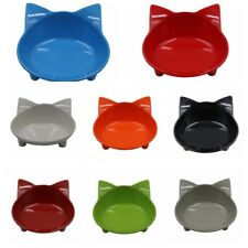 Face Shape Feeder Anti Slip Bowl Food Water Dish For Small Pet Cat Puppy Dog US