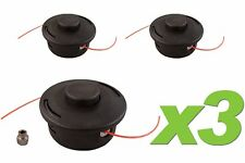 (3) Pack Stihl 25-2 Replacement Bump Feed Trimmer Head fits FS44 FS55 FS80 FS83