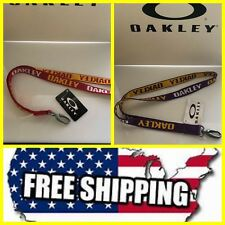 """NEW OAKLEY PRINTED LANYARD KEY CHAIN ID HOLDER 99413 ASSORTED COLORS 20"""" LENGTH"""