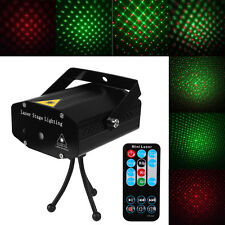 2018 Hot Mini Projector R&G DJ Disco Light Stage Xmas Party Laser Lighting Show