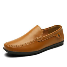Hot Mens Driving Moccasin Casual Boat Shoes Plus Size Flat Shoes Slip On Loafers