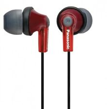 Panasonic Canal type earphone red RP-HJE150-R