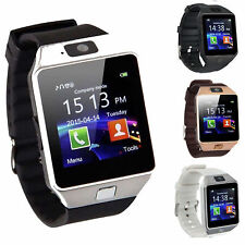 DZ09 Bluetooth Smart Watch Phone + Camera SIM Card For Android IOS Phones New