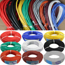 5m/16.40ft 30/28/26/24/22/20 AWG Stranded Silicone Electric Wire Cable Modish