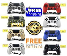 Red Blue White PS4 PlayStation4 Dualshock 4 Joystick Gamepad Wired Controller