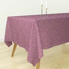 Tablecloth Vine Leaves Calico Tendril Cotton Sateen