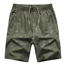 Casual Mens Camouflage shorts  FIT Waist,Knee Length 2018 New Polyester Clothes