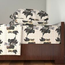 Labrador Retrievers Lab Dogs Animals Organic Sateen Sheet Set by Roostery