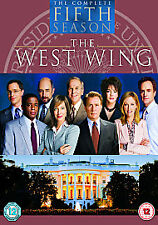 The West Wing - Series 5 (DVD, 2005, 6-Disc Set, Box Set) 22 Episodes